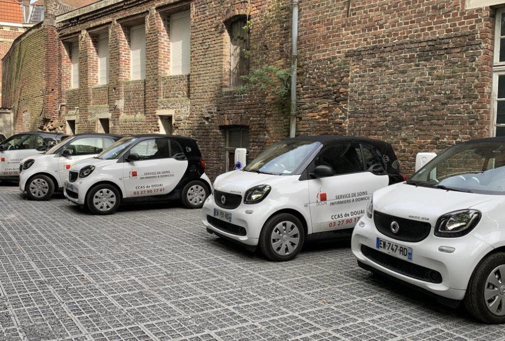 Parking du CCAS de Douai