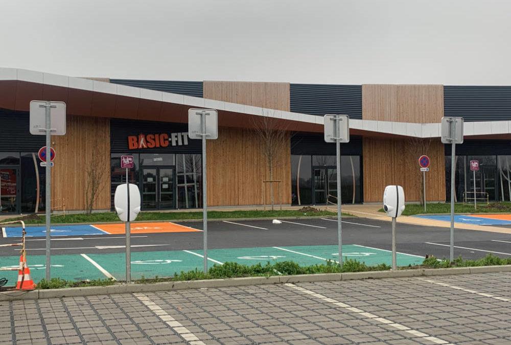 Parking du Centre sportif Basic Fit