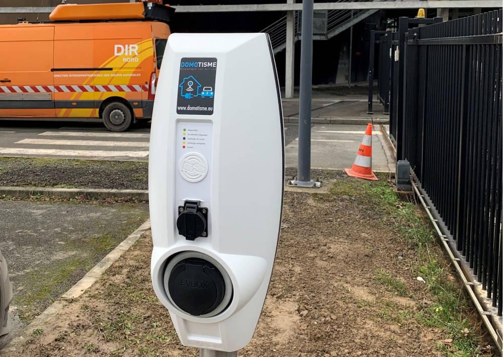 Domotisme : installation de bornes de recharge pour voitures électriques DIR Nord